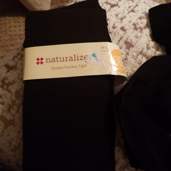 10865a5eb NATURALIZER Opaque Footless Tights